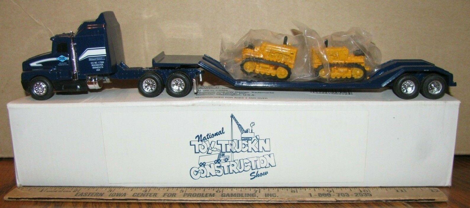 Ertl 1 64 Semi Truck & John Deere 430 Crawler 1997 Juguete construcción mostrar Midwest