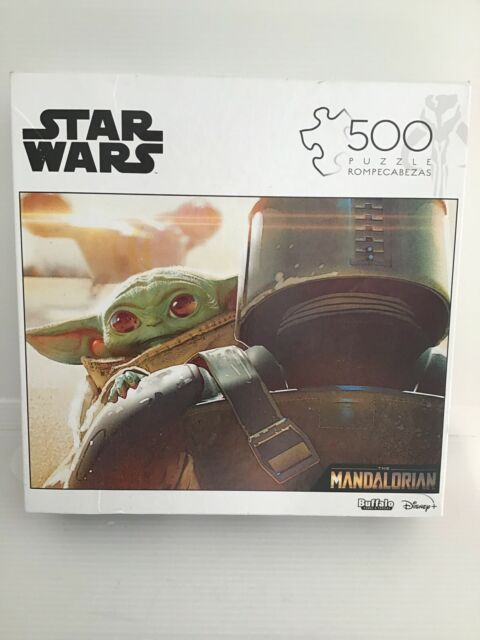Star Wars- The Mandalorian 500 Piece Jigsaw Puzzle