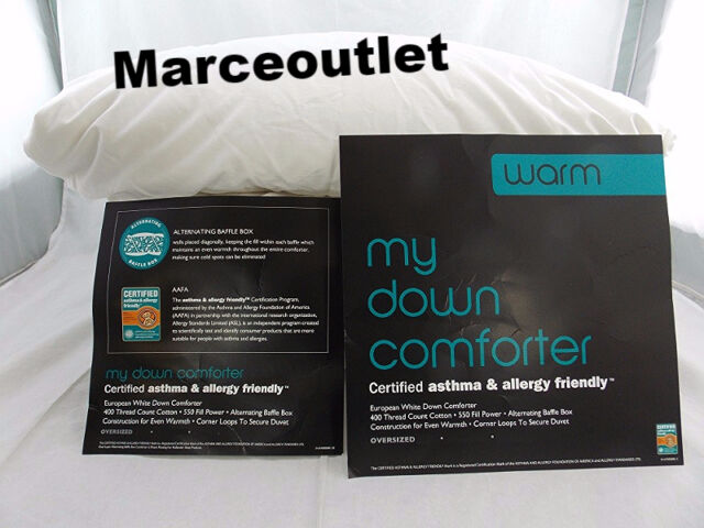 Department Store My Down Warm TWIN Down Comforter White