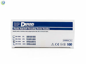 Dental-Sterilized-Disposable-Injection-Needles-30G-Short-0-31-X-21mm-100Box