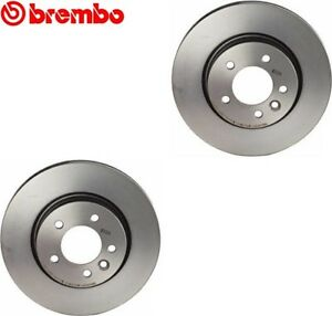 09 8873 31 Land Rover LR3 Brembo Set of 2 Disc Brake Rotors 09887331