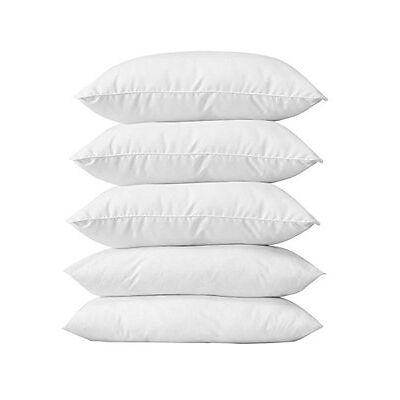 Export Hub Super Soft Recron fiber Pillows Set Of 5 (P- 2 -16X26) compressed