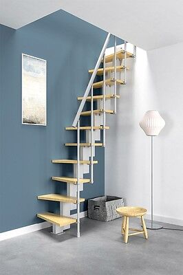 Misterstep Small Compact Space Saving Modular Diy Staircase Kit Ladder Ebay