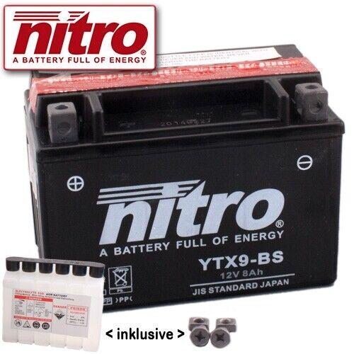 BATTERIA HONDA ntv650 Revere rc33 anno 1994 NITRO ytx9-bs