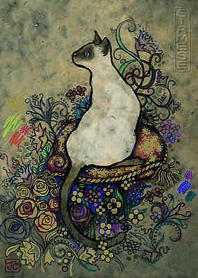 NEW! Heye Cats - Siamese by Jane Crowther 1000 piece jigsaw puzzle