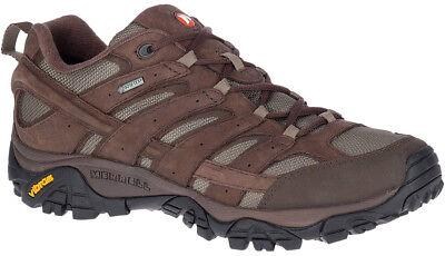 Disinteressato Merrell Moab 2 Liscio Gore-tex Scarpe Da Camminata Da Uomo-marrone-