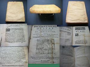 MARANDE-Inconvenients-d-Etat-procedant-du-Jansenisme-Edition-originale-1654