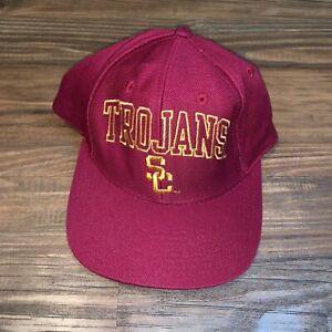 Nike-USC-Trojans-NCAA-Adjustable-Curved-Bill-Baseball-Hat-Cap