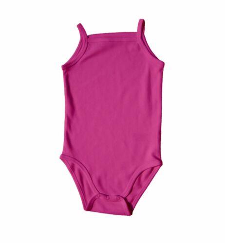 Strampler Baby Body aus Bio Baumwolle Spaghettiträger Jungen Mädchen Bodysuit