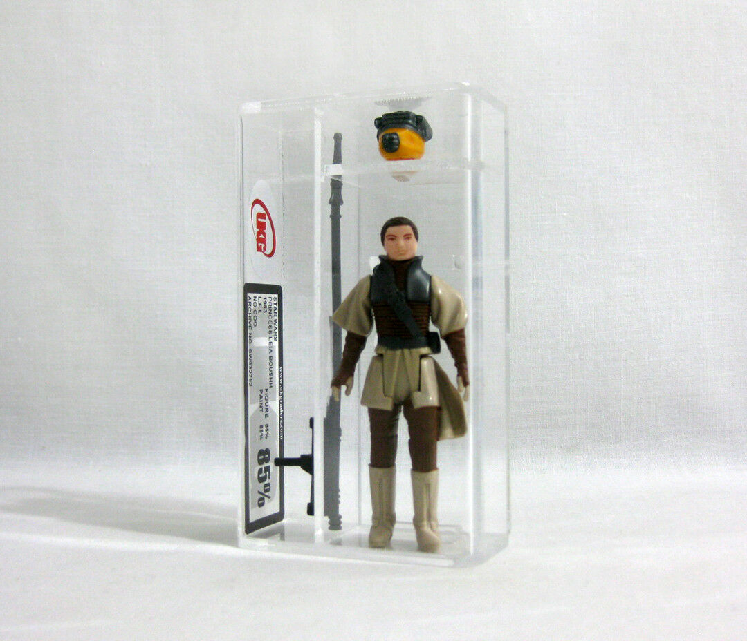 1983 Vintage Star Wars ✧ Princesse Leia ✧ Boushh Figure UKG 85 85 AFA E21