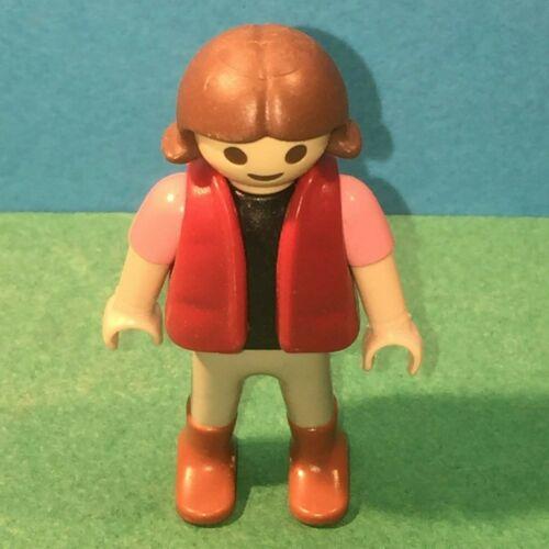 Personnage enfant cheveux marron Playmobil ref 38