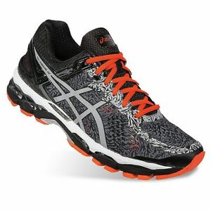 Silver Running Kayano Shoes Lite Gel Box In New Asics Mens 22 Carbon xwH8P4qq