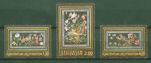 Liechtenstein-2009-Fuerstliche-Schaetze-Badminton-Cabinet-Barock-Nr-1525-27