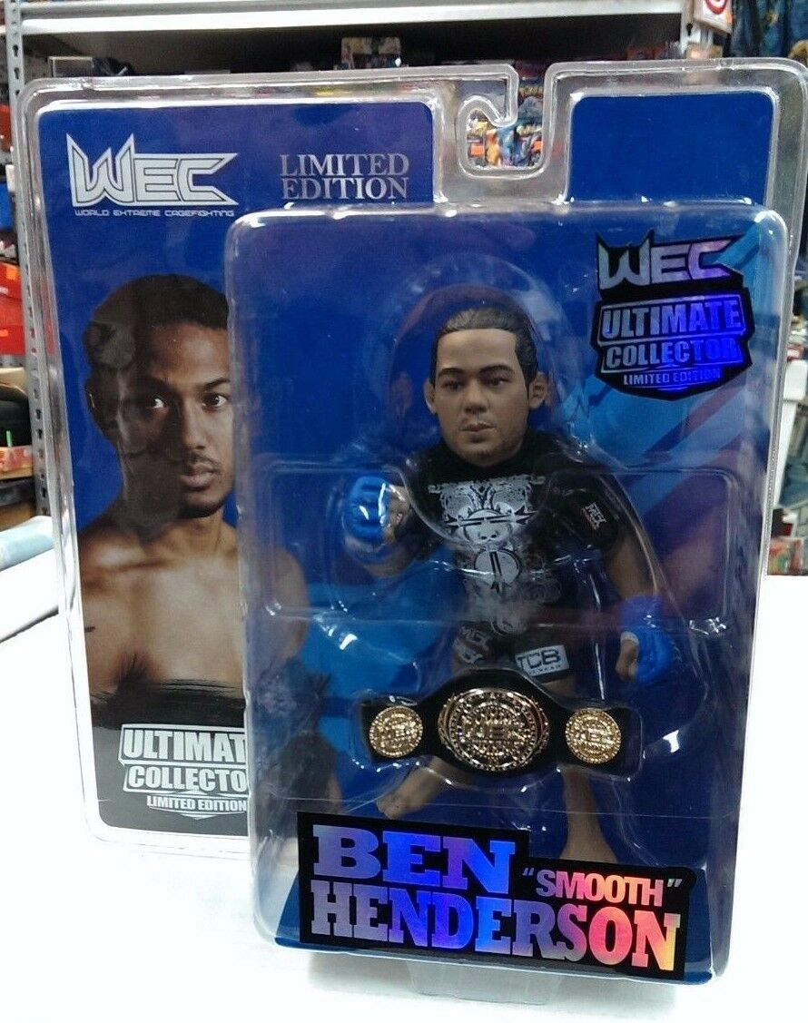 UFC Ultimate Collector - Limited Edition / NumbeROT - BEN HENDERSON - 648/1500