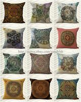 Wholesale 10 Cushion Cover Tibetan Buddhism Mandala Pillow Covers For Couch