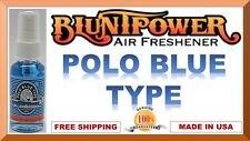 BluntPower 100% Concentrated Oil Based Air Fresheners Blunt Power POLO BLUE 1