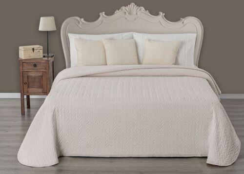 Tagesdecke Primo Line Bettüberwurf Bettdecke Allzweckdecke Baumwolle 40/%