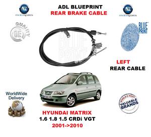 Le Titre Sur Adl 1 8 Crdi À Détails Hyundai Fc 5 Matrix Arrière Main 6 2001gt; Câble 2010 Pour 1 D'origine 1 Vgt De Frein Afficher XOTPkZiu