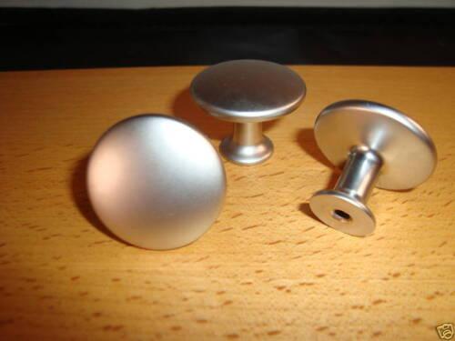 Möbelknopf Chrom matt 30 mm  Möbelgriff Möbelgriffe