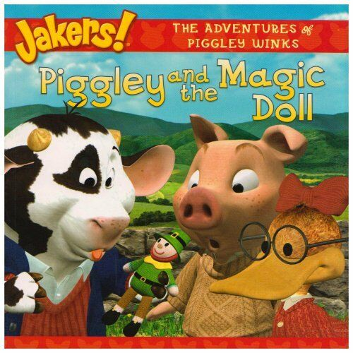 JAKERS ! ___ PIGGLEY AND THE MAGIC DOLL ___ BRAND NEW ___ FREEPOST UK