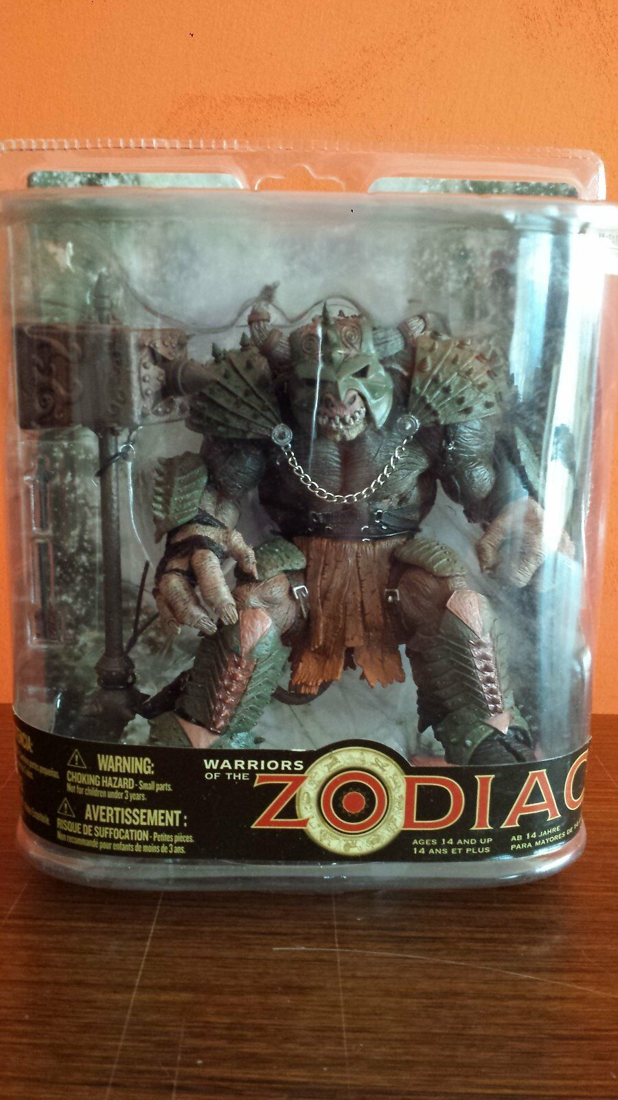 WARRIORS OF THE THE THE ZODIAC TAURUS McFarlane toys Action Figure Toro be97d5