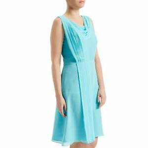 75-OFF-Fenn-Wright-Manson-Hydrangea-Silk-Dress-Aqua-8-10-12-14-16-RRP-199