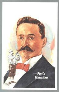 227-NED-HANLON-Perez-Steele-Hall-of-Fame-Postcard