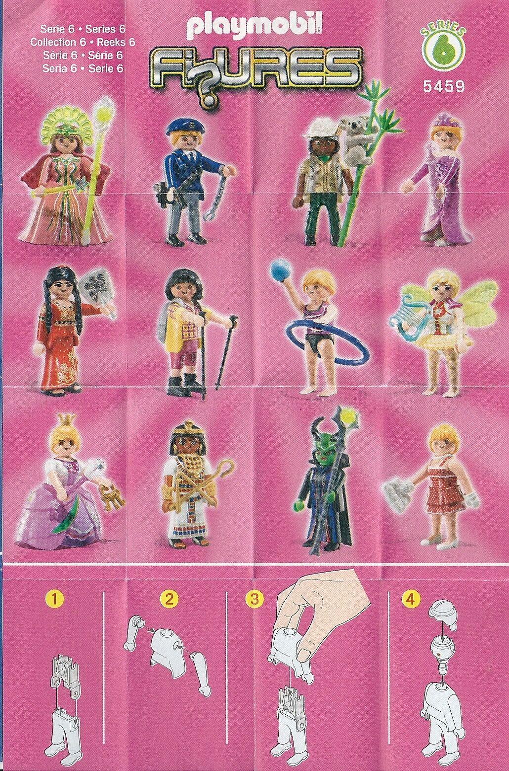 Figur 5459 NEU Playmobil Girls ** Serie 6 **  Nordic Walkerin