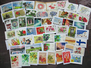 Finland-kiloware-on-paper-Eurotime-up-to-2019-LOT-100-different-ALL-LARGE