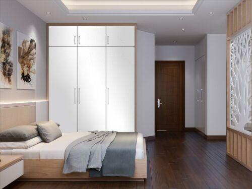 50 m 3,00 € //m Klebefolie für Möbel Möbelfolie weiß matt 61,5 cm
