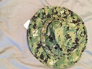NWT NWU Type III Navy Seal AOR2 Digital Woodland Boonie Hat SUN ... a01454320e6