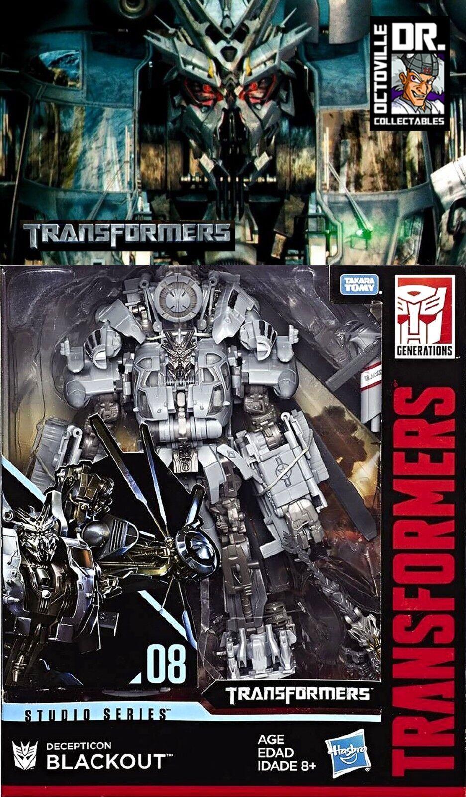Líder de Transformers Hasbro Studio Serie 08 película negroout Nuevo