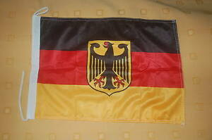 Deutschland-mit-Adler-Bootsflagge-Bootsfahne-Boot-Flagge-Fahne