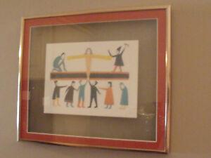 Jessie-OONARK-INUIT-ARTIST-framed-art-card-GIVER-OF-LIFE