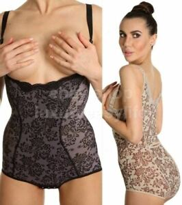 3d476513ecde6 Image is loading Shapewear-Bodysuit-Body-Shaper-Slimming-Tummy-Firm-Control-