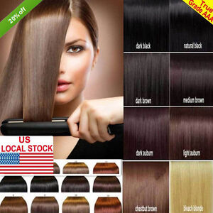 Premium 100 real good clip in remy human hair extensions full image is loading premium 100 real good clip in remy human pmusecretfo Choice Image
