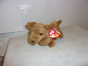 6614597aac1 Image is loading 034-TY-034-BEANIE-BABIES-WEENIE-D-O-B-JULY-