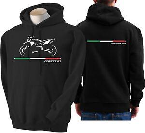 Sudadera Aprilia para Sudadera capucha Sudadera Moto Dorsoduro con Sudadera capucha capucha con bicicleta con qRaqxrC
