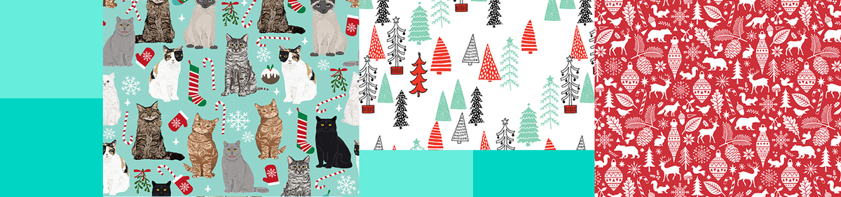 Shop Event Shop Fun Holiday Fabrics All Independently designed & eco-friendly