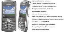 Blackberry Pearl 8110 Gris half-qwerty Cámara Desbloqueado Smartphone teléfono móvil