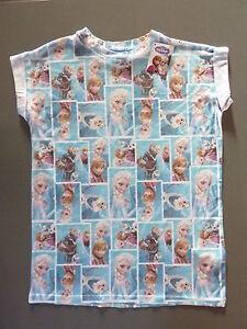 Damen Sven T Frozen Disney Elsa Collage Shirt Anna Olaf Eiskönigin xwfC7