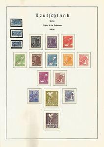 Freimarkenausgabe-1948-gestemp-roter-Aufdruck