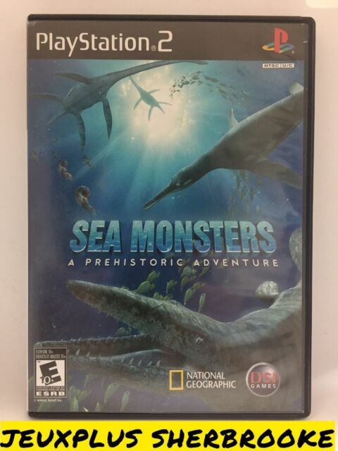 Sea Monsters A Prehistoric Adventure (Sony PlayStation 2 PS2, 2008)