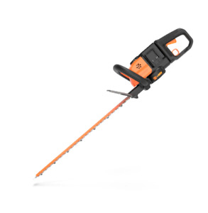 "WORX WG284 2X20V Cordless Powershare 24"" Hedge Trimmer with Dual Blades"