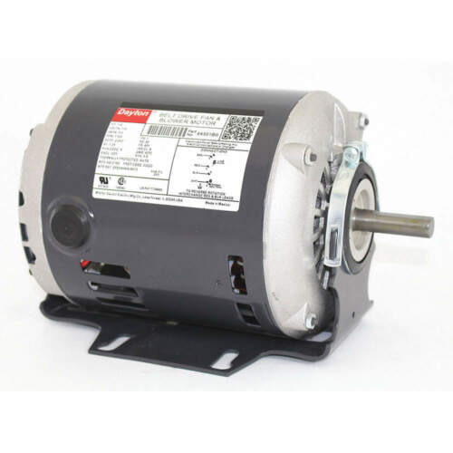 DAYTON 6K551 Motor,1//6 HP,Split Ph,1725 RPM,115 V