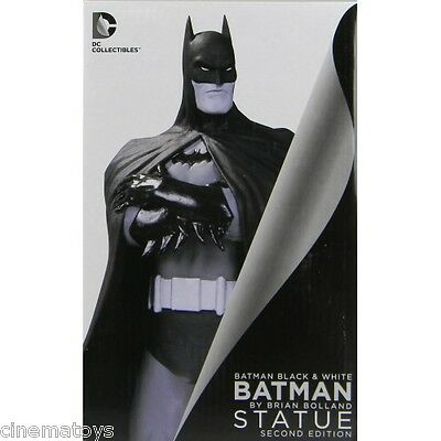 DC Comics Batman The Dark Knight Black and White Brian Bolland 2° Edition Statua
