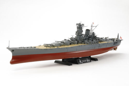 Tamiya 1 350 Japanese Battleship Yamato – model kit