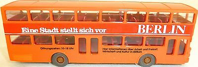 Cars Strong-Willed Orange Painted Berlin Eine Stadt Stellt Sich Man Sd 200 Wiking Bus H0 1:87 Gd4å