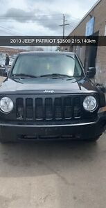2010 Jeep Patriot  $4500