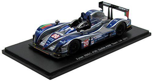 Zytek 09sc  20 LM 2011 Amaral Pla  Hughes 1 43 model spark model  100% neuf avec qualité d'origine